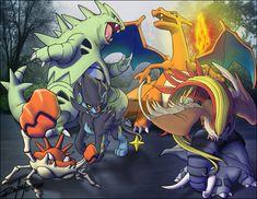 Pokemon Dream Team? xD by SigfriedX