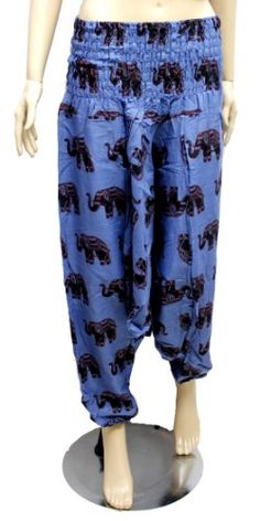 Hippie Pants, Boho Hippie, Cotton Pants, Aladdin, Krishna, Elastic Waist, Harem Pants, India, Yoga