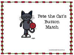 Classroom Freebies: Pete the Cat Set matching Smartboard Activity