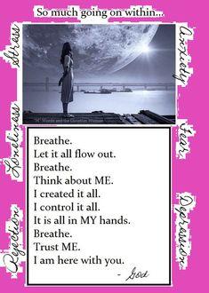 #positive #hope #faith #joy #calming #selfcare #inspirational #life #trust Christian Women, Christian Life, Life Is Hard, Love Life, Bible Quotes, Bible Verses, Staying Strong, Biblical Womanhood, Women Of Faith