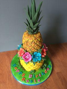 Anyone for a pineapple shaped red velvet cake?