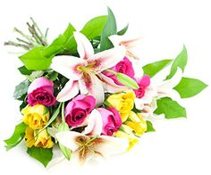 A Celebration Bouquet  Without Vase -- Details can be found by clicking on the image.