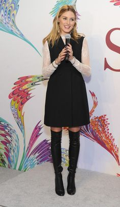 Olivia Palermo at SK-II Limited Edition Holiday Collection Launch Party in New York.