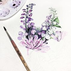 Watercolor cards, gouache tutorial, painting tips, painting & drawing, floral Watercolor Art, Art Drawings, Drawings, Flower Art, Watercolor Flowers, Art Videos Tutorials, Art, Watercolor Art Paintings, Painting Tips