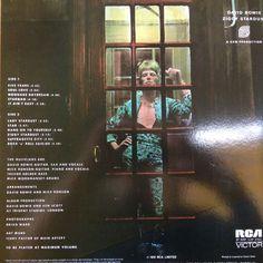 """David Bowie Lot Of Three ( 3 ) LP's """"Aladdin Sane"""" & """"Trident Tapes"""" & """"Ziggy Stardust"""""""