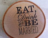 Unique wedding Favors Birch Coasters by marys4everflowers on Etsy, $165.00 USD