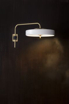 Bert Frank Revolve Wall Light - Coming Decorex 2015 #Decorex #FutureLuxury…
