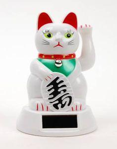 Solar Powered Maneki Neko Wealth Cat