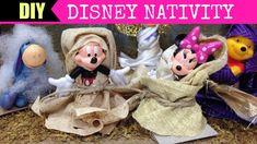 DIY Mickey Nativity Scene