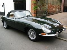 E Type.  I've always wanted to have this car!