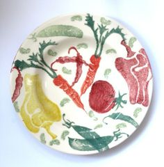Emma Bridgewater Vegetable Soup Plate