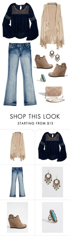What to Wear: Winter--->Spring by maurices on Polyvore featuring maurices.   Cute outfit, ugly wedge, shoe things