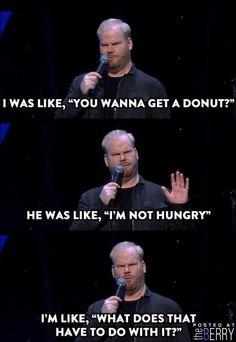 Never pass up a donut!