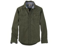 Men's Earthkeepers® Hubbard River Twill Shirt