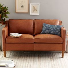 Hamilton Leather Loveseat, What room would you put this in? http://keep.com/hamilton-leather-loveseat-by-simply_walnut_street/k/zslCFvgBMo/