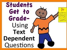 This lesson is based on answering Text Dependent Questions, but allows the students to GRADE responses. (The responses are original- created by me!). Students will see an example and discuss why the response is well-written. Next, they will discuss the rubric.