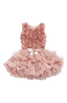 8e6441707d35 Popatu Ribbon Rosette Pettidress (Baby Girls) available at