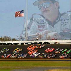 Dale Sr lookin over Dale Jr Daytona The Intimidator, Daytona 500, Daytona Beach, Kyle Busch, Dale Earnhardt Jr, Nascar Racing, Auto Racing, Dirt Racing, Car And Driver
