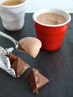 Une tuerie de mousse au chocolat à base de Toblerone!