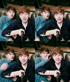 Baekhyun and d.o 엑소 Baekhyun, Park Chanyeol, Exo Official, Exo Couple, Korea Boy, Do Kyung Soo, Exo Members, Cloud 9, Chanbaek