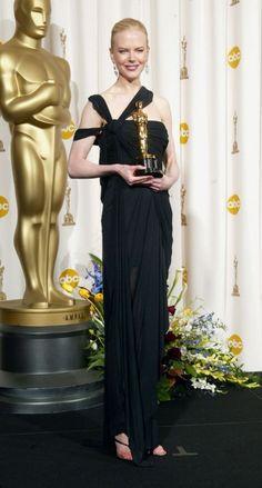 """Nicole Kidman: Gewinnerin des Academy Awards für """"Best Actress"""" im Film """"The Hours"""" (2002)."""