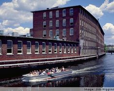 Lowell National Historical Park in Massachusetts ... tour the complex from the source of its power.