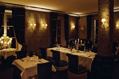 The Restaurant, its delicate and romantic atmosphere #Paris #romance - photo credit: Renaud Cambuzat
