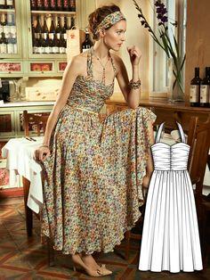 Blooming Dreams: 11 Spring Sewing Patterns | BurdaStyle.com