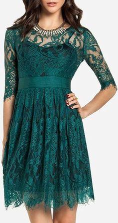 Dakota Green Lace Dress ♥: