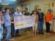 BLOG DO MARKINHOS: APAE de Manoel Ribas recebe verba do Banco do Bras...