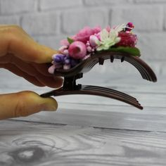 These new French hair claws will reliably hold both thin and thick hair ponytail! Hair Ponytail, Ponytail Hairstyles, Flower Hair Clips, Flowers In Hair, Sister Gifts, Gifts For Mom, Aster Flower, French Hair, Claw Clip