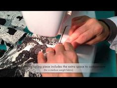 ▶ How to sew the lapel facing to the jacket - Marfy pattern 3022 - YouTube