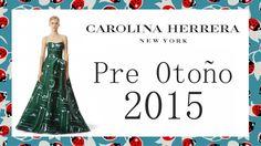#CarolinaHerrera: Colección Pre Otoño 2015  #vestidosdefiesta #tendencias #moda
