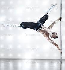 pole dance man -