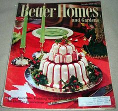 Better Homes And Gardens Back Issue Magazine December 1959 Issue Magazine,  Pudding, Better Homes