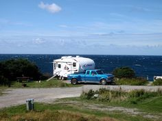 Newfoundland - Greenpoint Campground in Gros Morne National Park Newfoundland Canada, Newfoundland And Labrador, Camping Activities, Rv Parks, Travel Info, Beautiful Islands, Recreational Vehicles, Places To See, Sailing