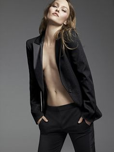 Je veux un smoking pour femme !  #Chanel #VanessaParadis #tuxedo