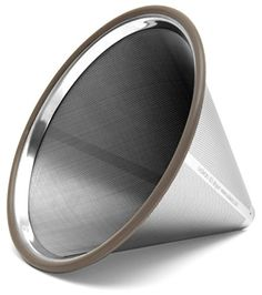 Ovalware Stainless Steel Coffee Filter Stainless Steel 304 Filter: pour over coffee filter, coffee filter dripper, filter drip. Chemex Coffee Maker, Coffee Dripper, Pour Over Coffee Filter, Coffee Filters, Coffee Accessories, Accessories Shop, Coffee In A Cone, Glass Coffee Cups, Stainless Steel 304