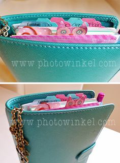 #filofax dividers and tabs and charm