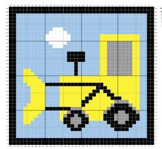 Raverly: c2c digger square pattern.