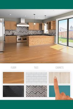 Grey Kitchen Designs, Interior Design Living Room, Interior Decorating, Home Layout Design, Design Homes, House Design, House Layouts, Cottage Homes, Room Decor Bedroom