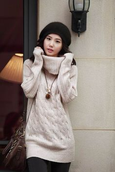 d67289776ed489 27 Best Oversized cable knitted sweaters images