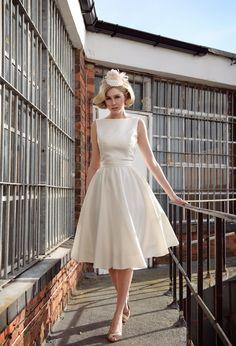 Tobi Hannah   Tobi Hannah Bridal   Spring 2013 Campaign   Tea Length Dresses, Short Wedding Dresses
