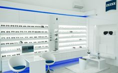 #Zeiss #eyewear #shop in #Miskolc , #Hungary #Shop #store #design, mostly #optical #opticians interiors, besides #office , #cafe , #restaurant , #foodcourt interiors. Unique and #creative ideas, solutions from a Hungarian #design studio, #Csiszer .