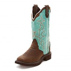 Fall Tent Sale Fave: Justin Gypsy Turquoise Triad Cowgirl Boots