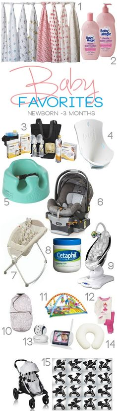 Baby Favorites  Newborn-3 Months