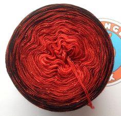 """Wolle - 191g/600m Merino extraf./Lurex """"Transylvania"""" - ein Designerstück von OrangeSox bei DaWanda"""