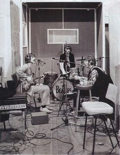 Recording at Abbey Road