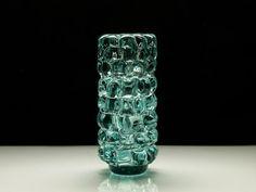BOHEMIAN Blown Glass Vase by Frantisek Vizner by BetterLookBack