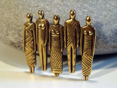 Laurel Burch People Brooch by AntiqueAlchemists on Etsy, $19.00